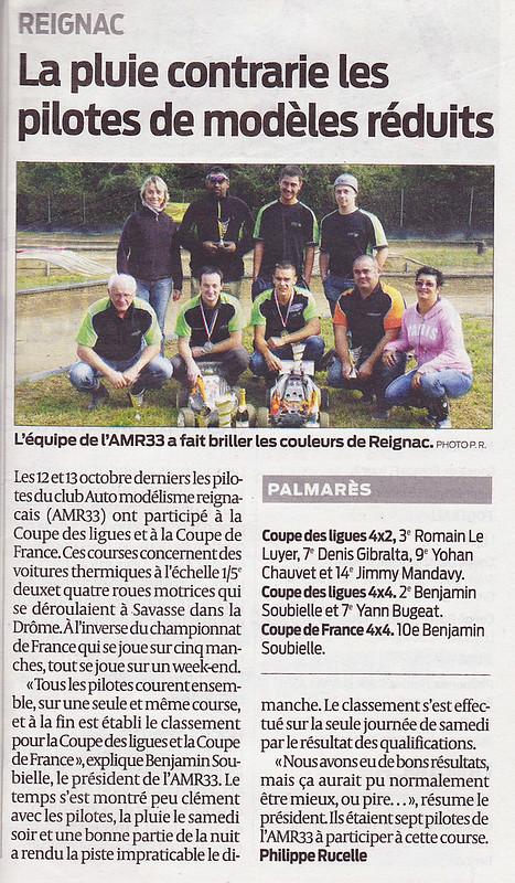 Sud ouest - coupe de France 2013