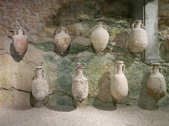 Roman artifacts in Pula Arena