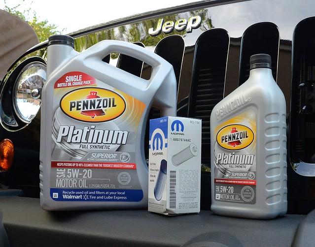 Oil Change – JK Wrangler 2013 | Jeep Off Road Adventures