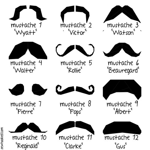 Mustachio! Now with fabulous names!