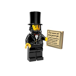LEGO The Movie 71004 - Collectible Minifigures - Abraham Lincoln