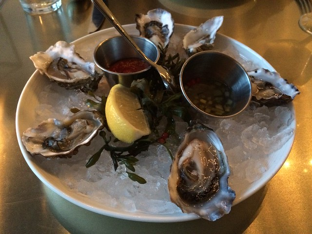 Pickering Passage oysters - Bar Crudo