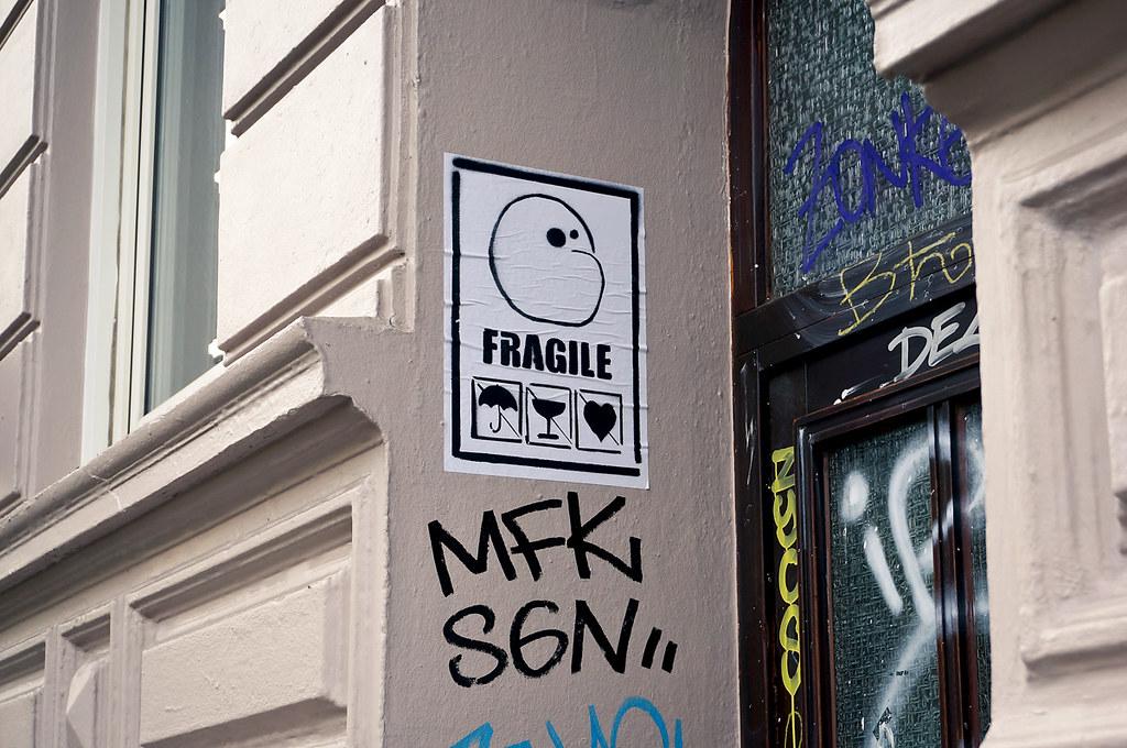 Street Art Kartoffeltierchen Hamburg