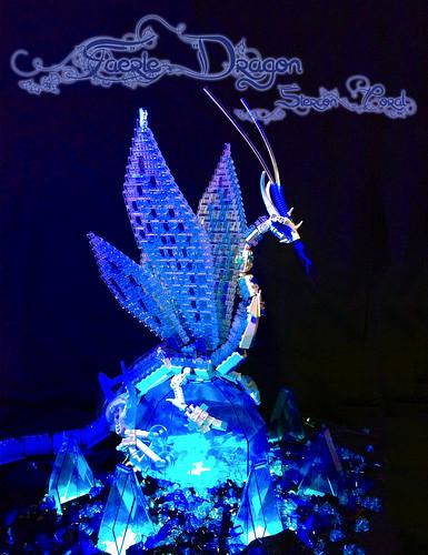 coral dragon lego crystal fairy faerie siercon
