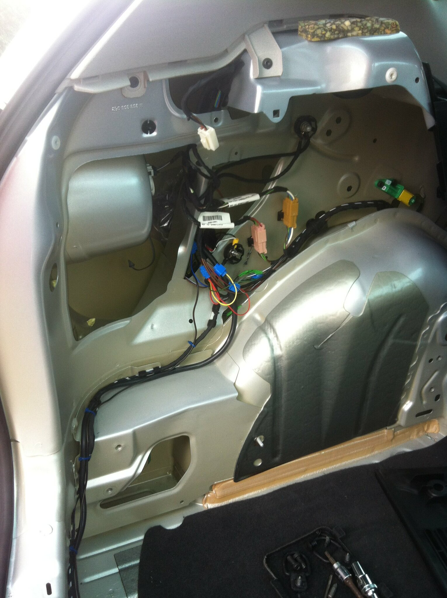 Tow Bar Fitting On Altea Seatcupranet Forums Thule Towbar Wiring Diagram Img