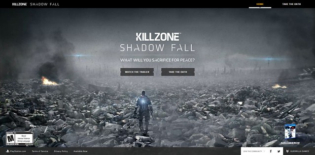 Killzone Shadow Fall: Take the Oath
