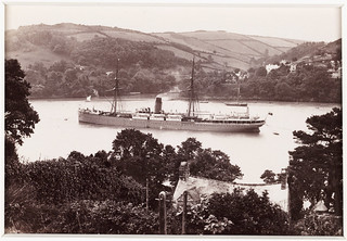 'Dartmouth, Castle Line Steamship and Warfleet'