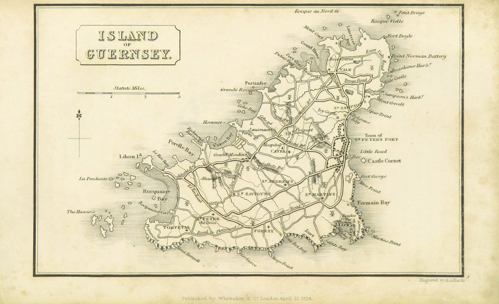 Channel Islands Map on
