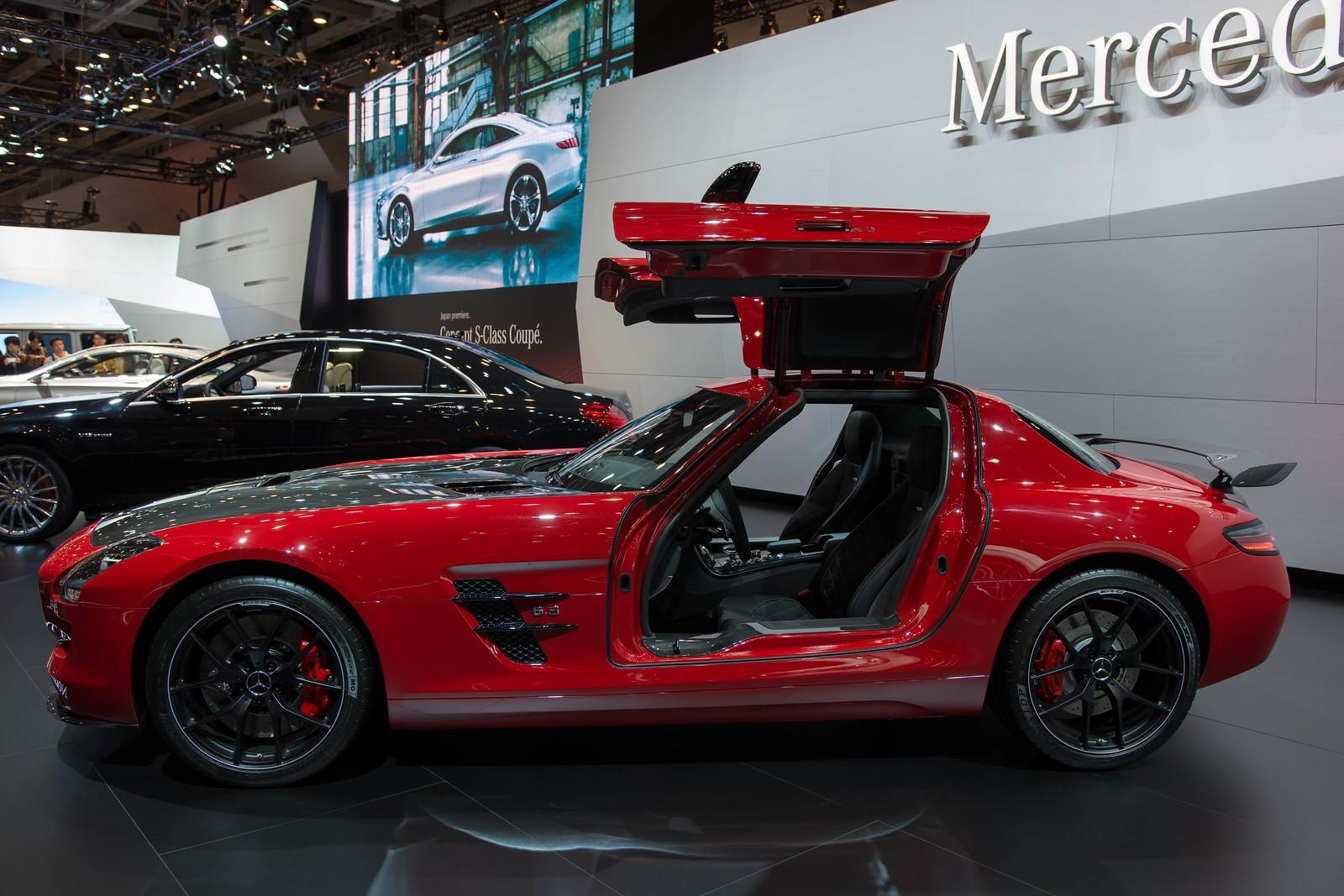SLS AMG GT FINAL EDITION(ワールドプレミア)