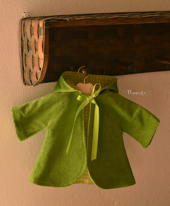 Coat for 12 inch doll
