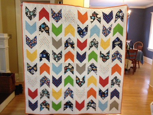 Pow Wow Quilt- Outer Space Fabric by Camelot Cottons