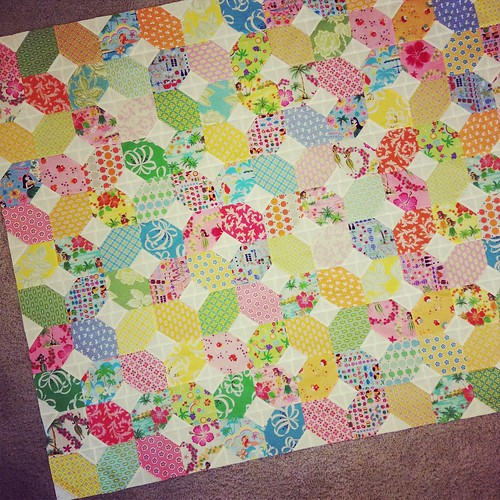 Hawaiian Memories Quilt - c