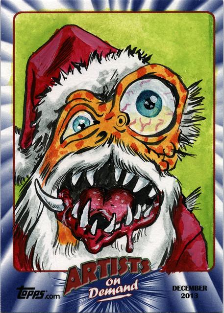 Topps AOD Ugly Santa: Artie