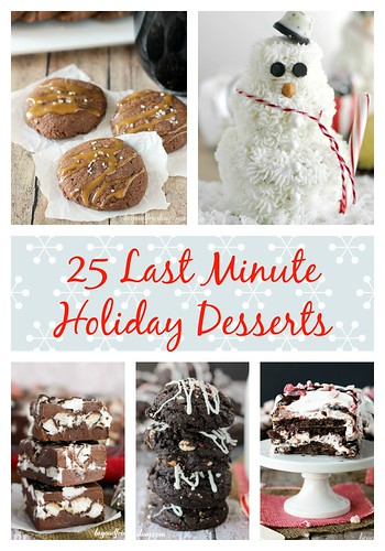 25 Last Minute Holiday Desserts | beyondfrosting.com
