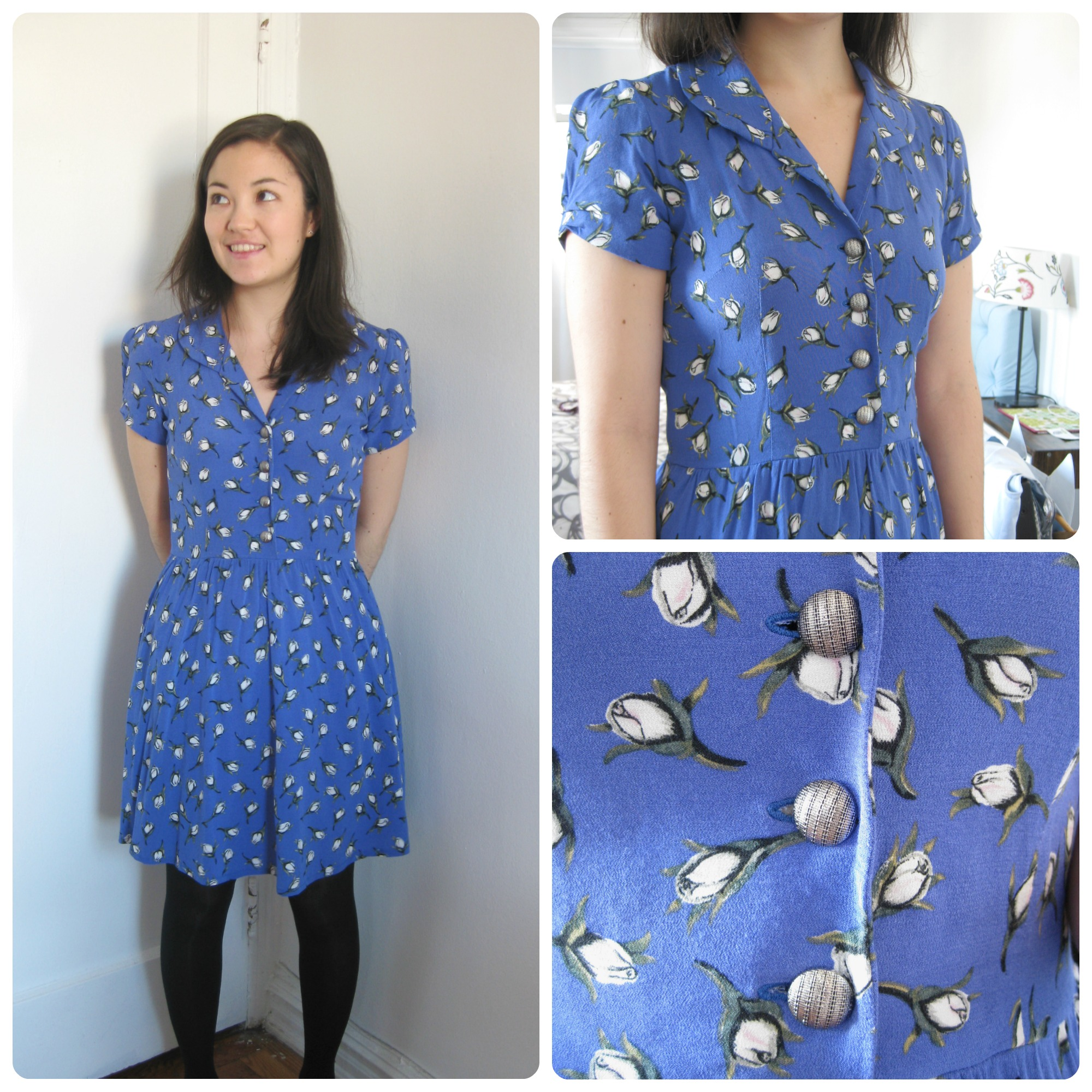 Bomb Girls Shirt Dress