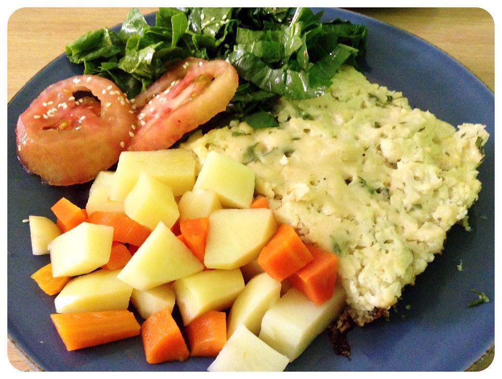 vegetarian food la serena