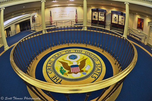 Great Seal of the United States | Quiet lobby of the Hall ...