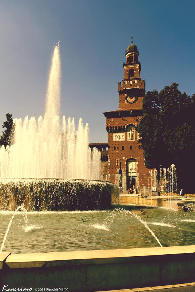 Piazza Castello - Milano