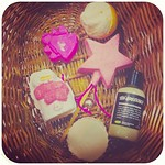 After-Christmas-Lush-sale which all smells amazing.