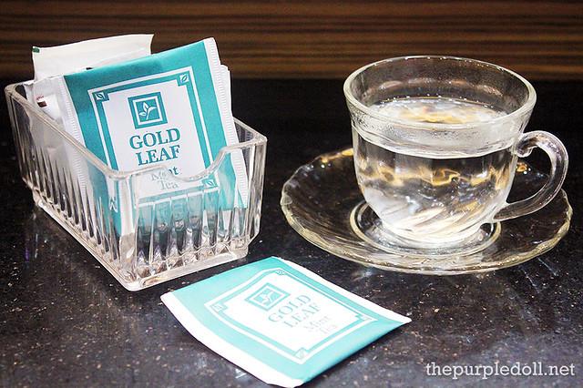 Hot Mint Tea at Creations Lourd Ramos Salon