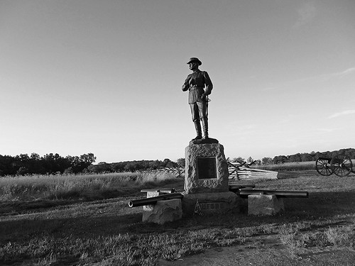 Day One July 1, 1863 ... General Buford, Gettysburg, Pennsylvania USA