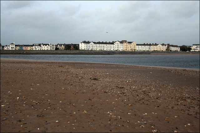 Exmouth from Dawlish Warren