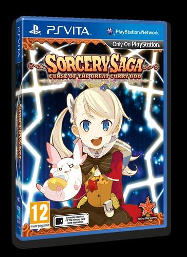 Sorcery Saga Vita 3D Packshot