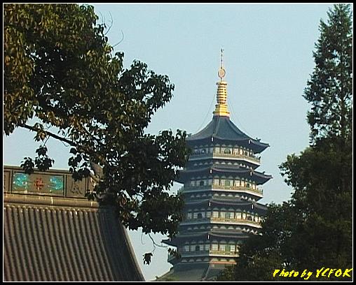 杭州 西湖 (西湖十景之一) 淨慈寺 - 041 (望向雷峰塔)
