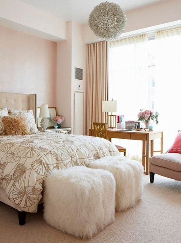 Blush Home Decor on Living After Midnite