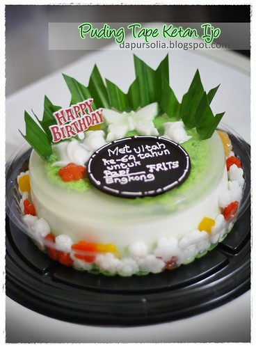 Decorated Puding