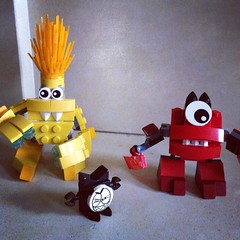 Mixels and Nixel #lego #legostagram