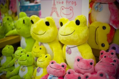 pickles the frog / Tokyo Station
