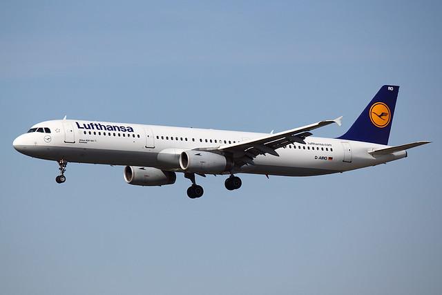 Lufthansa - A321 - D-AIRO (1)