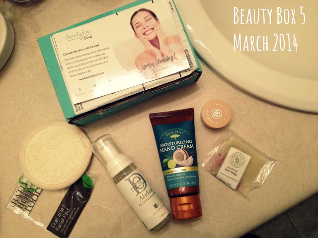 Beauty Box 5 March 2014