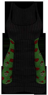 [NEW ON SALE!] *P* Nya MESH Dress ~Rockabilly~ Green FRONT