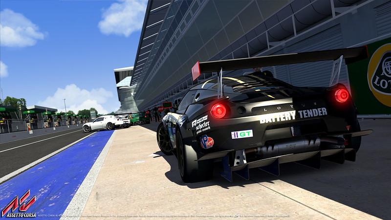 Assetto Corsa Lotus Evora GTE