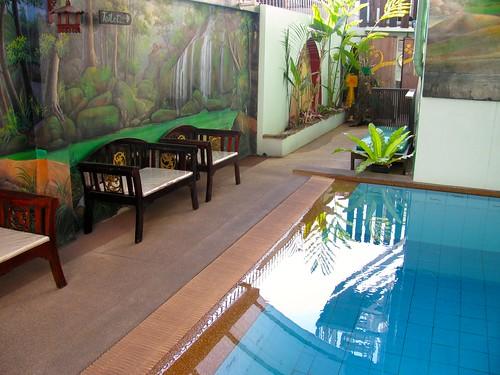 Piscina Hotel Awanahouse