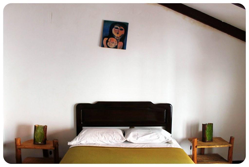 Hostal CasArte Takubamba room