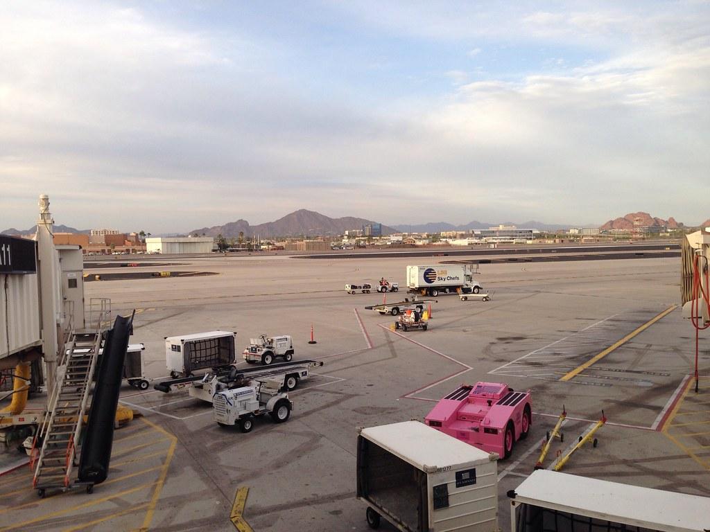 Arrival at Phoenix