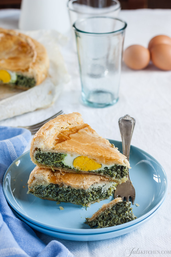 Torta Pasqualina Spinach and ricotta pie