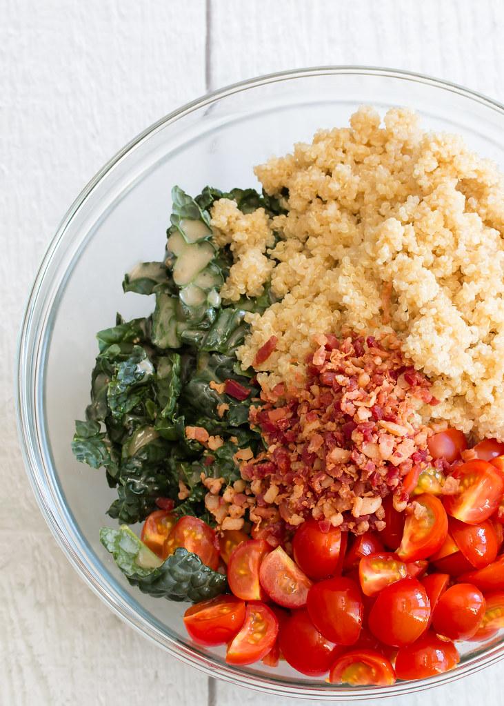 BLT Quinoa Salad
