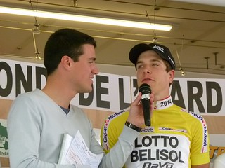 Vainqueur de la Ronde de l'Isard 2014 : Louis Vervaeke (Lotto Belisol)
