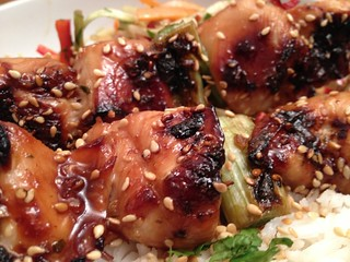 Chicken Yakitori : Another Close Up