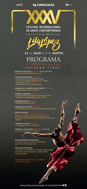 XXXV edición del Festival Internacional de Danza Contemporánea Lila López