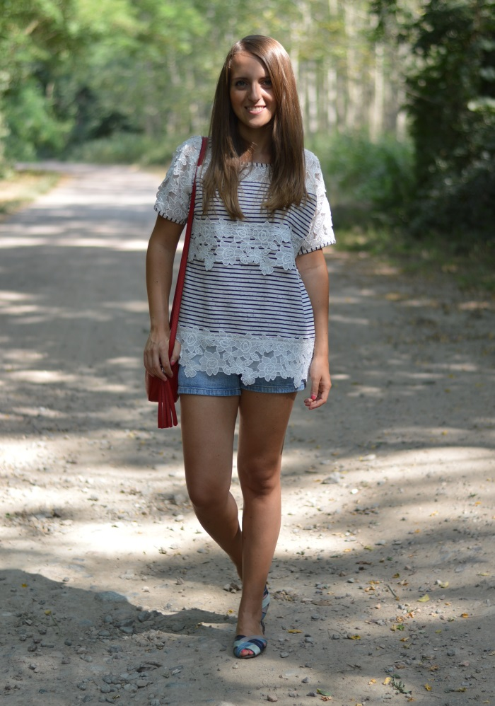 righe e pizzo, wildflower girl, fashion blog, estate (4)