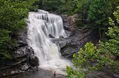 Bald River Falls in Tellico Plains, TN