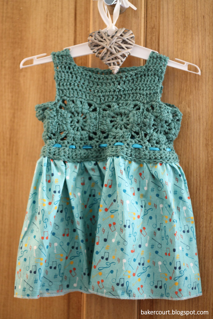 Crochet Granny Square Dress Patterns : Bakercourt - Knitting, Sewing, Crafting.: Granny Square ...