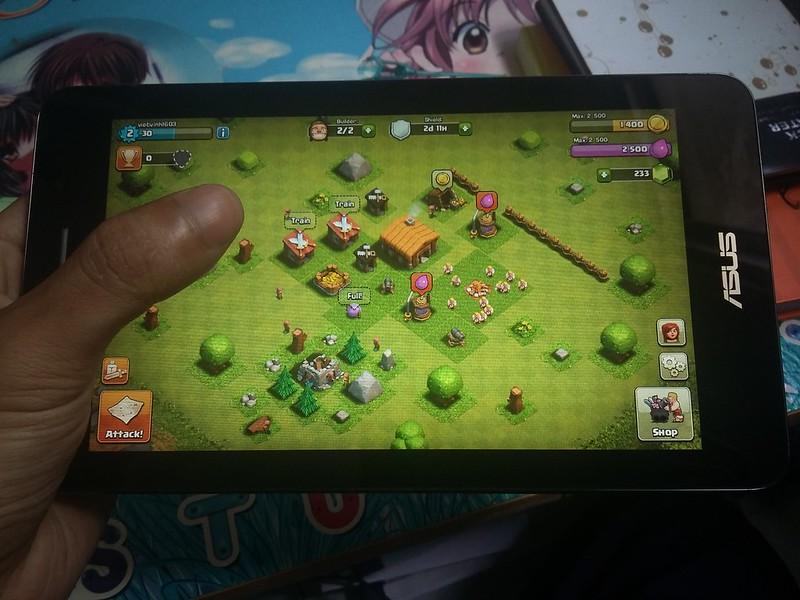 Trải nghiệm chơi game giải trí cùng Asus Fonepad FE171CG - 85092
