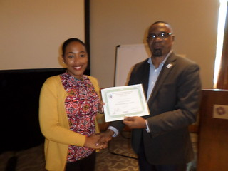 Certificate Presentation - Data for Decision Making Workshop