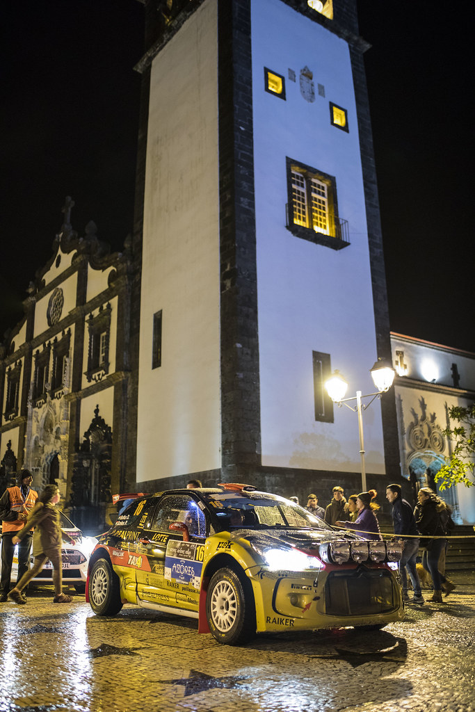 16 BOTKA David SZELES Peter  Citroen DS3 R5 Ambiance Portrait during the 2017 European Rally Championship ERC Azores rally,  from March 30  to April 1, at Ponta Delgada Portugal - Photo Gregory Lenormand / DPPI